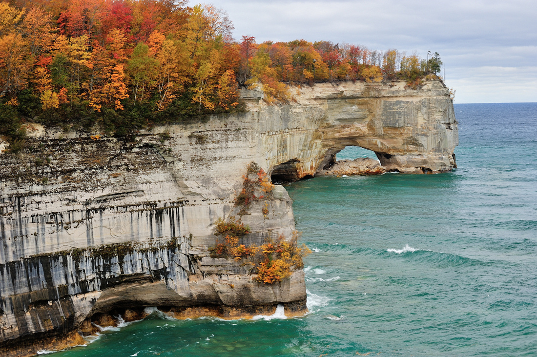 Grand Portal Point - Autumn at Pictured Rocks National Lakeshore