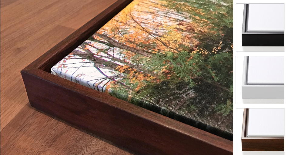 Framed Canvas Wraps by Michigan Nut Photography