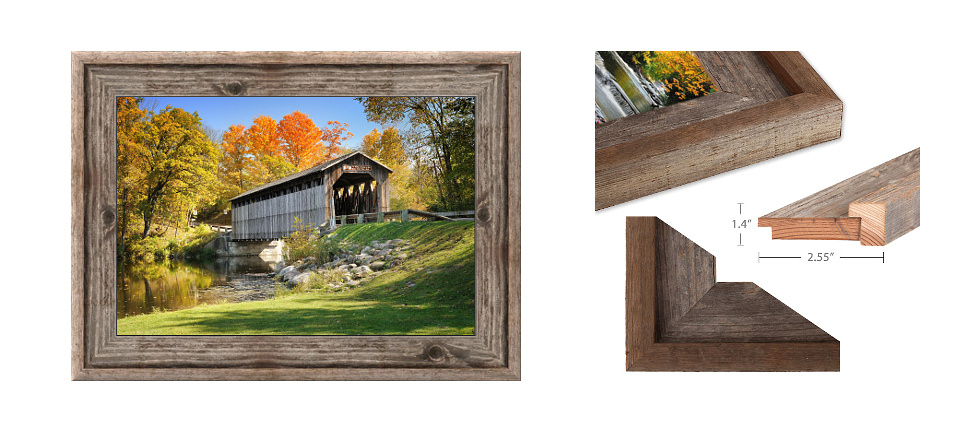 Barnwood Frames Header for product page