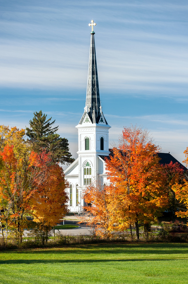 Saint Patrick Parish, Parnell, MI.  ( Historic Buildings Gallery )