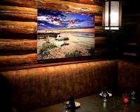 Michaels Restuarant-metal prints display-Mackinac Bridge