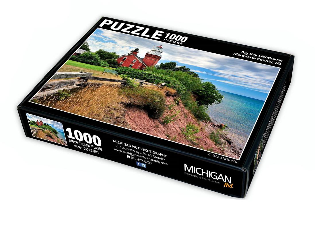 Big Bay Lighthouse - 1000 pcs $26.75