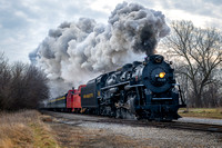 Pere Marquette 1225 Steam Locomotive