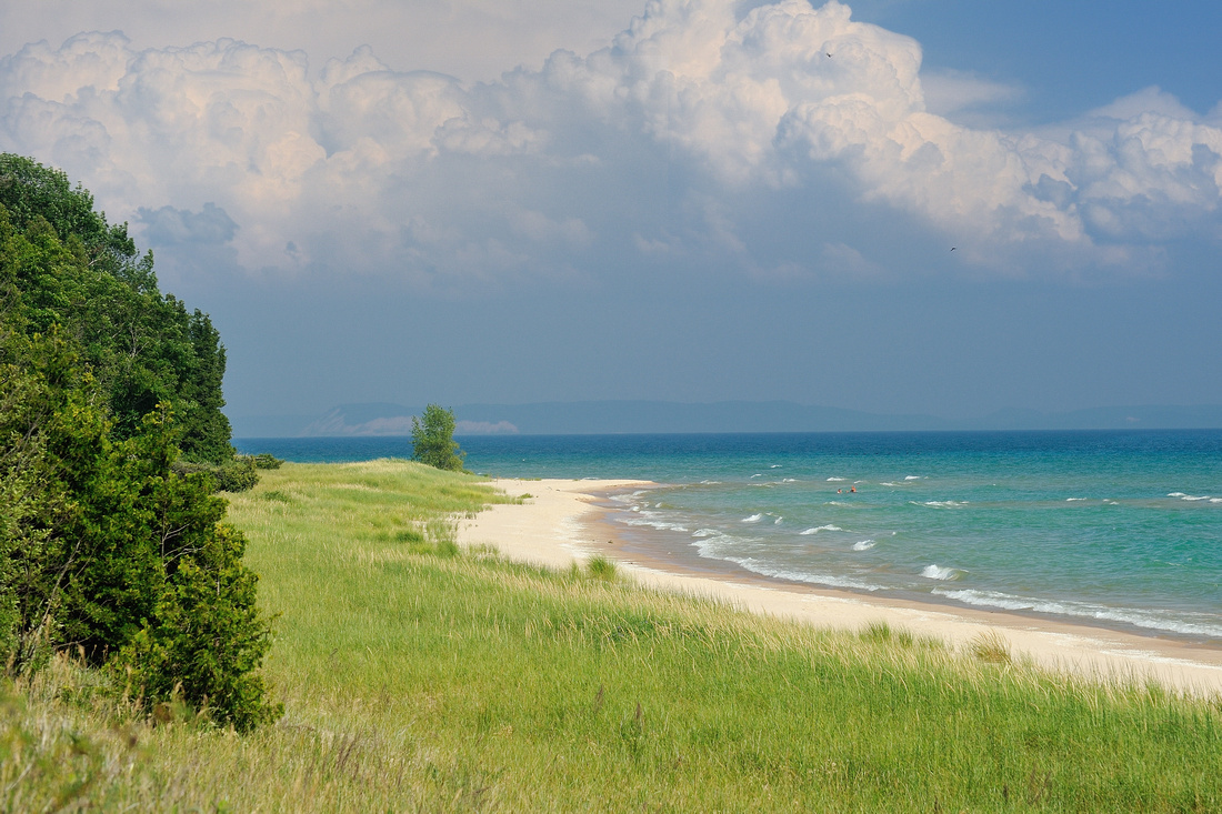 South Manitou Island secluded Lake Michigan beach