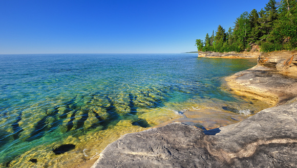 """The Coves""  Lake Superior"