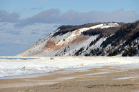 Winter at Empire Bluff| Sleeping Bear Dunes National Lakeshore
