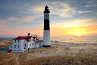 Big Sable Point Lighthouse Sunset