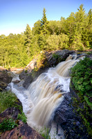 """Gabbro Falls in Upper Michigan"""