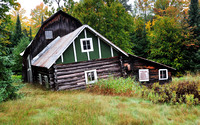 """Good Ol'e Day's""   Old Abandoned Log Cabin in Michigan's Upper Peninsula"