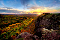 Brockway Mountain Sunset, Keweenaw Peninsula  (Porcupine Mts. & Keweenaw Gallery )