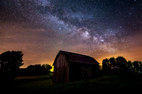 Old Barn and the Milky Way