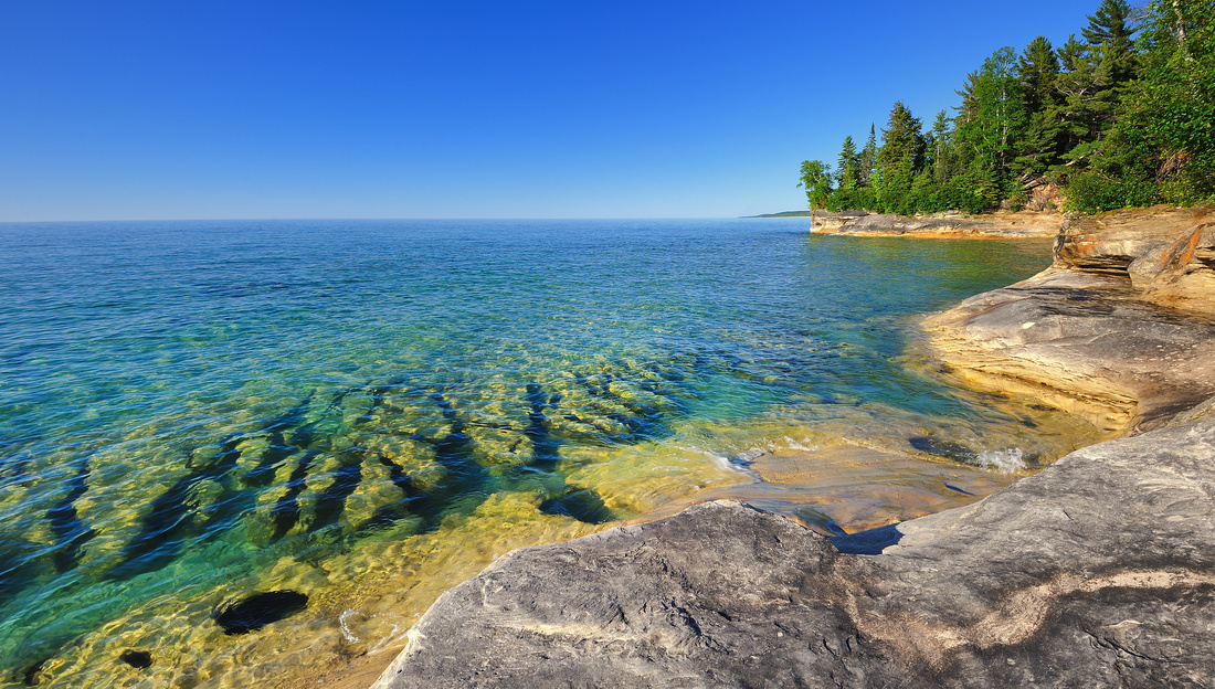 """""""The Coves""""  Lake Superior"""
