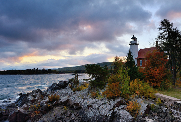 Dawn at Eagle Harbor Lighthouse
