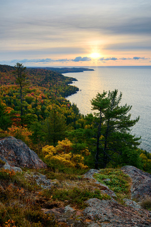 Bare Bluff - 600ft above Lake Superior in the Keweenaw Peninsula