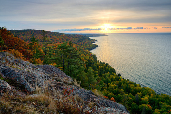 Bare Bluff -  Keweenaw's south shore