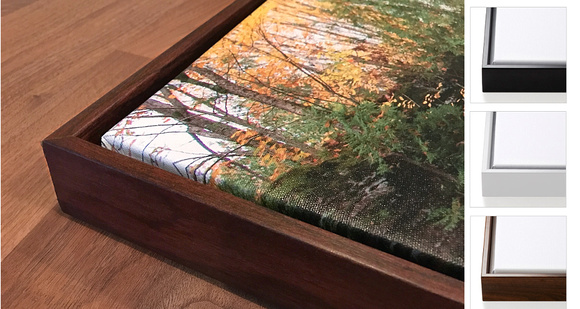 Michigan Nut Photography | Floater Frames for Canvas Wraps | Add a ...
