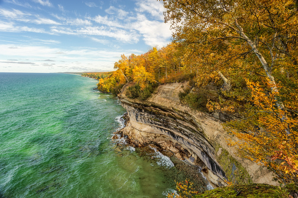 Pictured Rocks-autumn-beaver basin wilderness