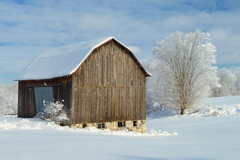 Michigan Nut Photography Old Barns Amp Log Cabins Snowy