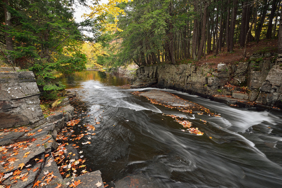 Autumn on the Slate River