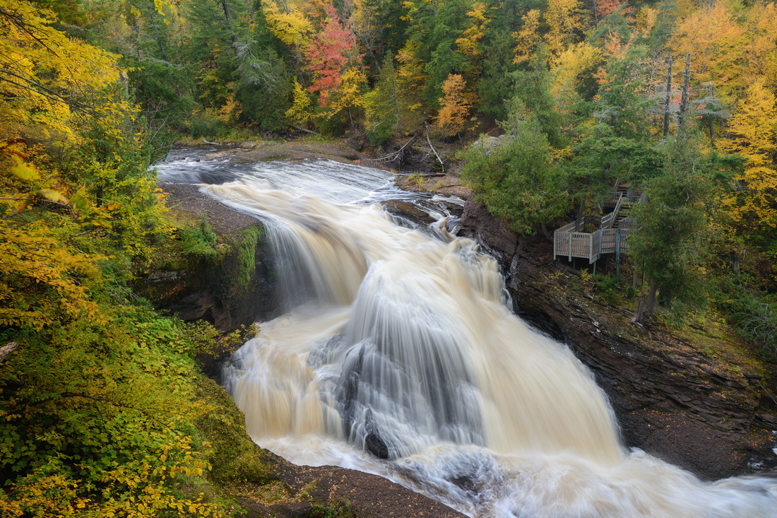 Rainbow Falls, Black River Scenic Byway