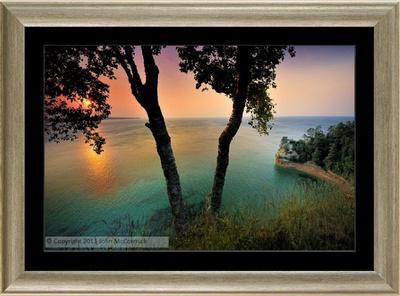 Framed Michigan Art