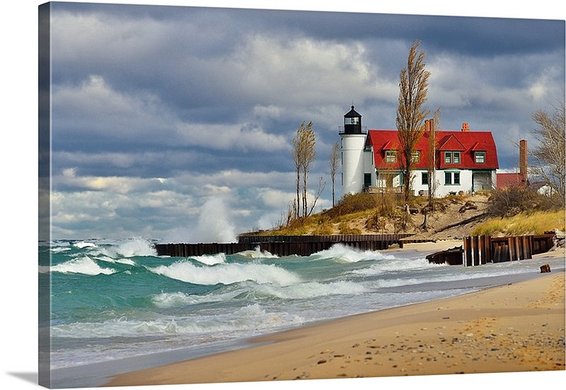 Canvas Wraps of Michigan Scenery