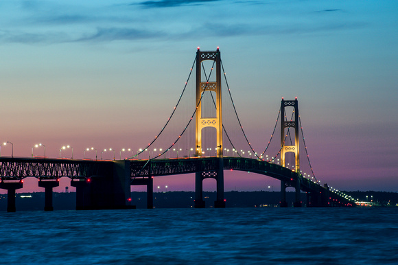 Michigan Nut Photography Michigan Bridges Sunset At