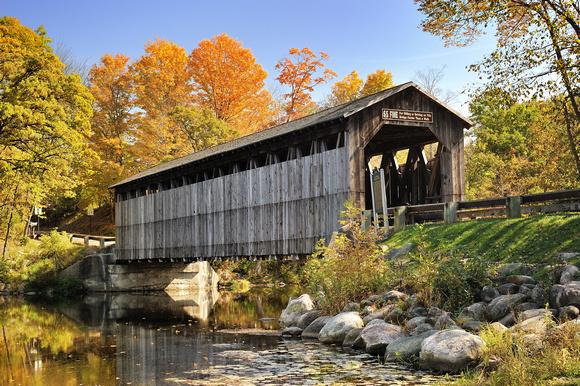 Michigan Nut Photography Michigan Bridges Fallasburg
