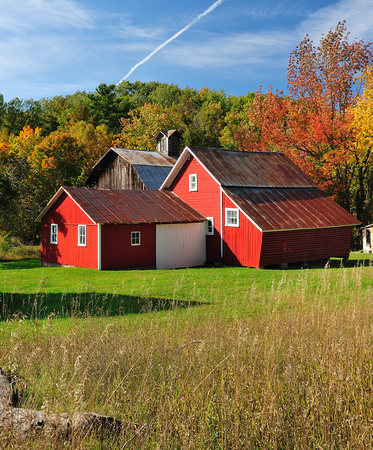 """The Bufka barns""  Sleeping Bear Dunes National Lakeshore"