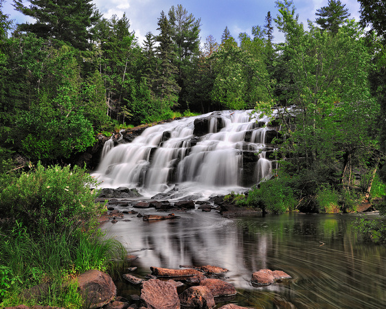 Bond Falls Paulding Michigan