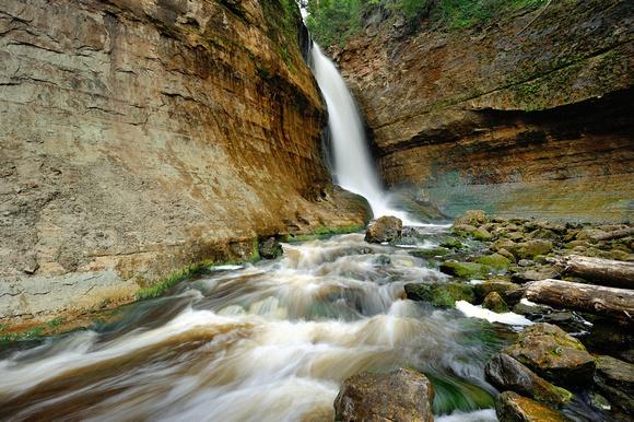 michigan upper peninsula waterfalls - photo #45