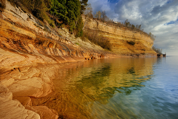 Miners castle , Pictured Rocks National Lakeshore